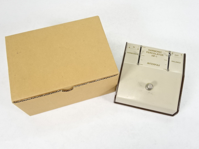 INTERFAX Harmonic Percolator HP-1 ギター用エフェクター 【中古】【ギター周辺機器】【金沢本店 併売品】【48291Kz】