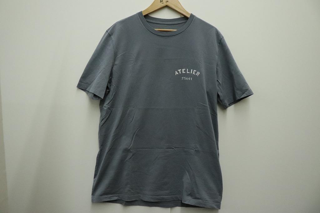 Maison Margiela 18SS ATELIER T-shirt Tシャツ メゾンマルジェラ SIZE:46 グレー 半袖 カットソー 【中古】【モード・セレクト】【金沢本店 併売品】【671785Kz】