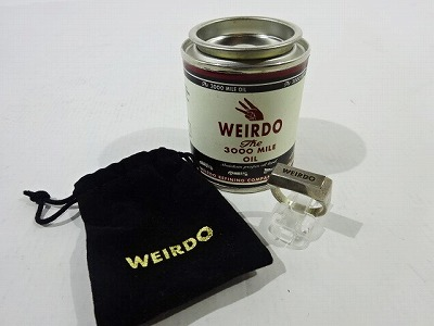 WEIRDO ウィアード INGOT RING SILVER 925 インゴット シルバーリング #19 金塊 シルバー925 指輪 ジュエリー アクセサリー メンズ 【中古】【アクセサリー】【金沢本店 併売品】【8200146Kz】