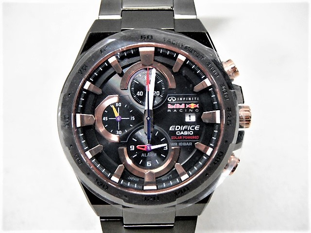 Romanyu Casio Edifice カシオエディフィス Infiniti Red Bull Racing