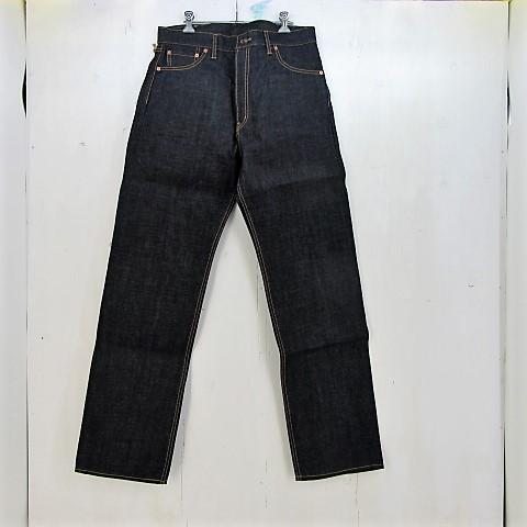 kakeya jeans 1st リジッドデニムパンツ size:4 カケヤジーンズ インディゴ 赤耳 タグ・デニムストラップ付き 未使用品 岡山製