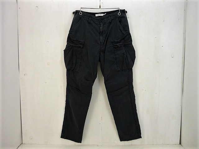 NONNATIVE 18SS TROOPER TROUSERS RELAX FIT COTTON WEATHER カーゴパンツ size:2 ノンネイティヴ ブラック