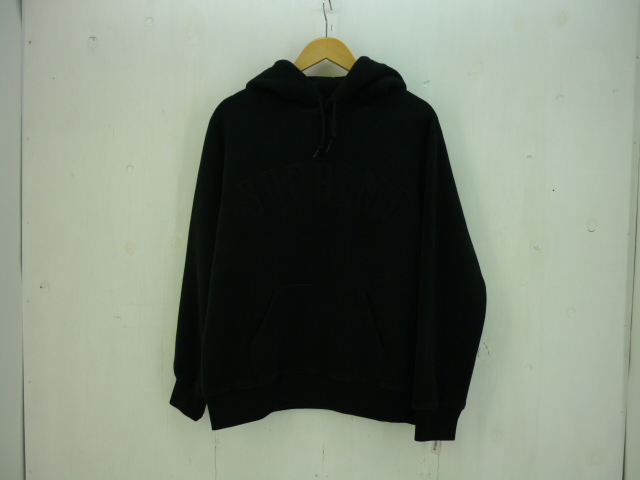 値下げしました SUPREME 18Aw POLARTEC HOODED sweatshirts size:M シュプリーム ポーラテック ブラック フリース タグ付き