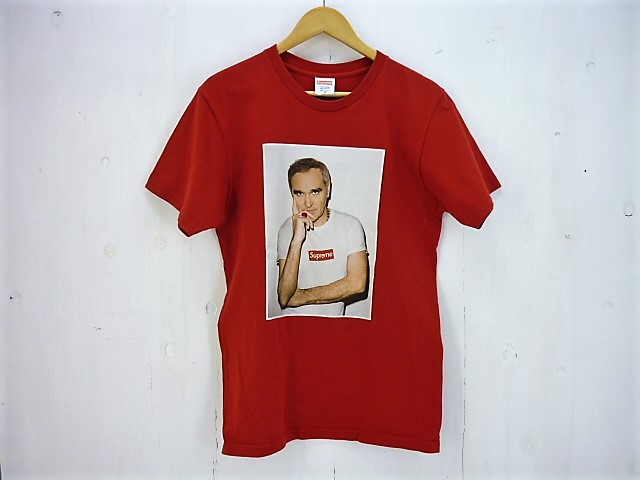 SUPREME 16SS Morrissey Tee size:M シュプリーム モリッシー フォトプリント レッド