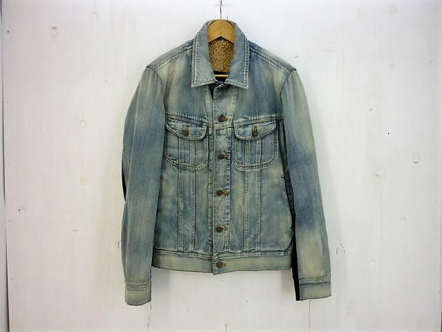MIHARAYASUHIRO  デニム×スウェット切替ダメージ加工ジャケット size:46 ミハラヤスヒロ ボアライナー付き