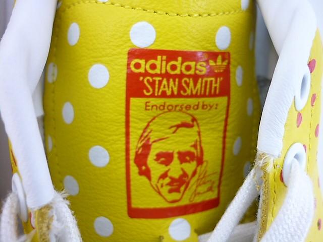 値下げしました ADIDAS STAN SMITH PHARRELL WILLIAMS スニーカー size 26cm アディダス ファレル・ウィリアムズ スタンスミス イエロー ドットmvN8ynO0w
