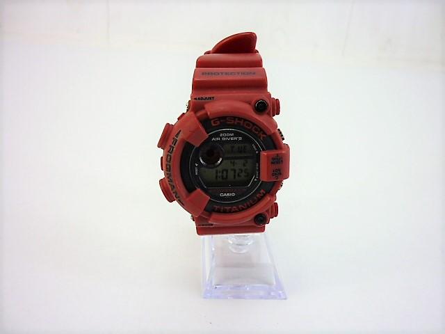 値下げしました G-SHOCK DW-8200 FROGMAN RED フロッグマン ジーショック レッド