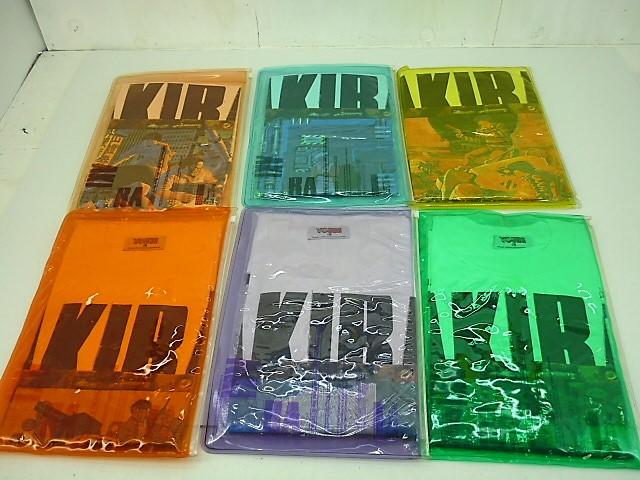 AKIRA Tシャツ ヤングマガジン懸賞品 6枚セット size:L デットストック 未開封品 アキラ 金田 鉄雄