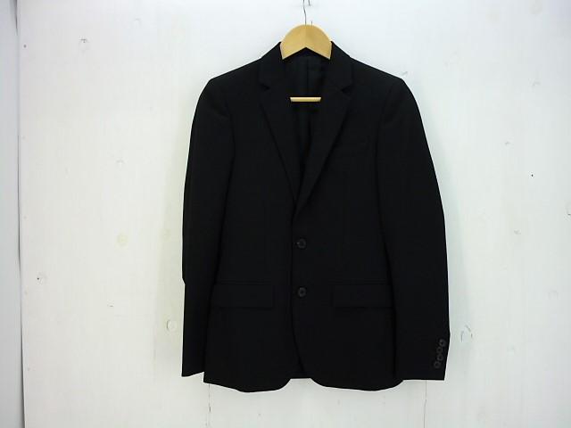 値下げしました WACKO MARIA 3ピースセットアップスーツ size:JKT:S VEST:M PANT:M ワコマリア ブラック テーラード ジャケット ベスト パンツ
