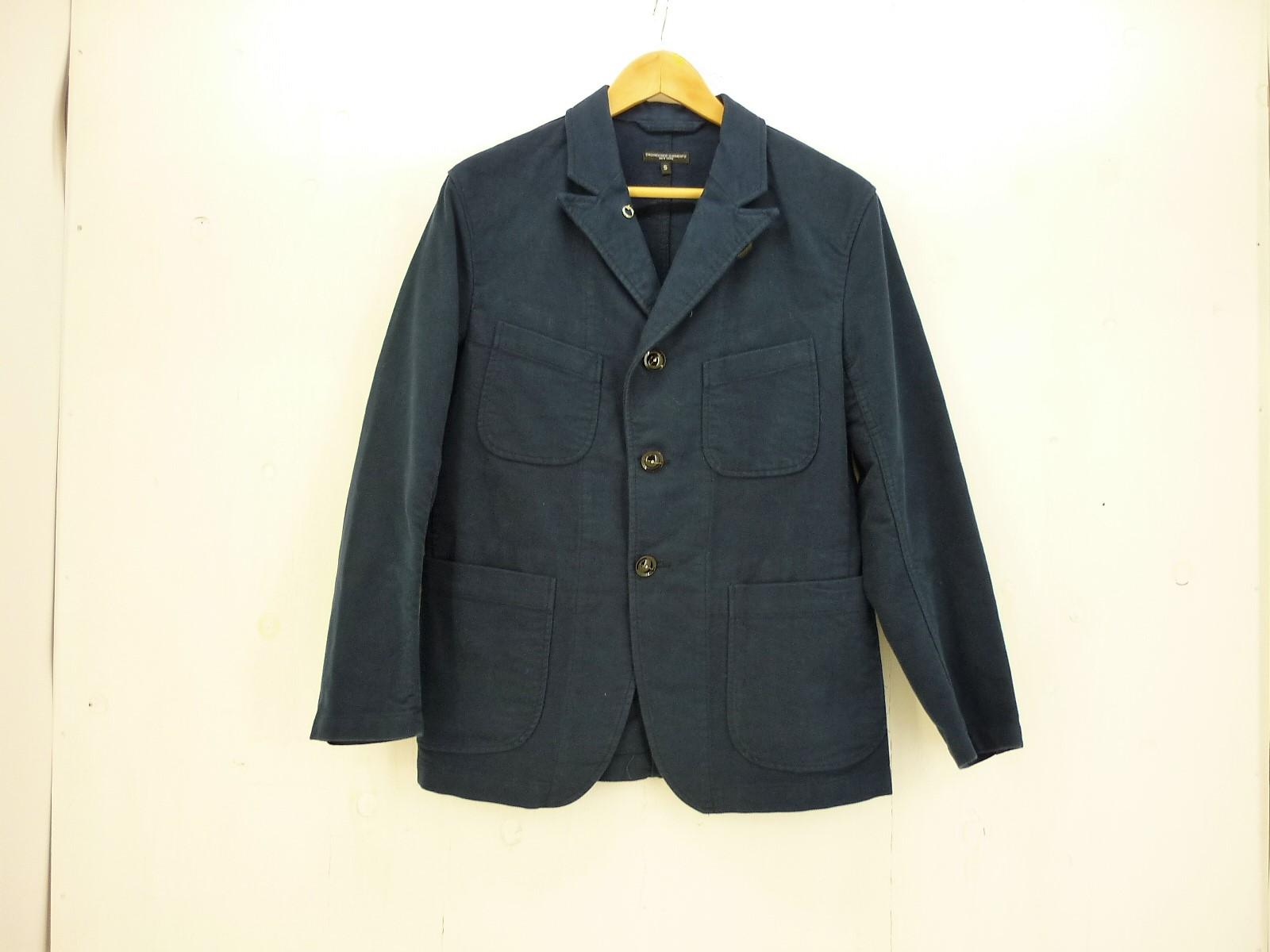 値下げしました Engineered Garments bedford JKT size:S エンジニアードガーメンツ ベッドフォード ジャケット ネイビー^