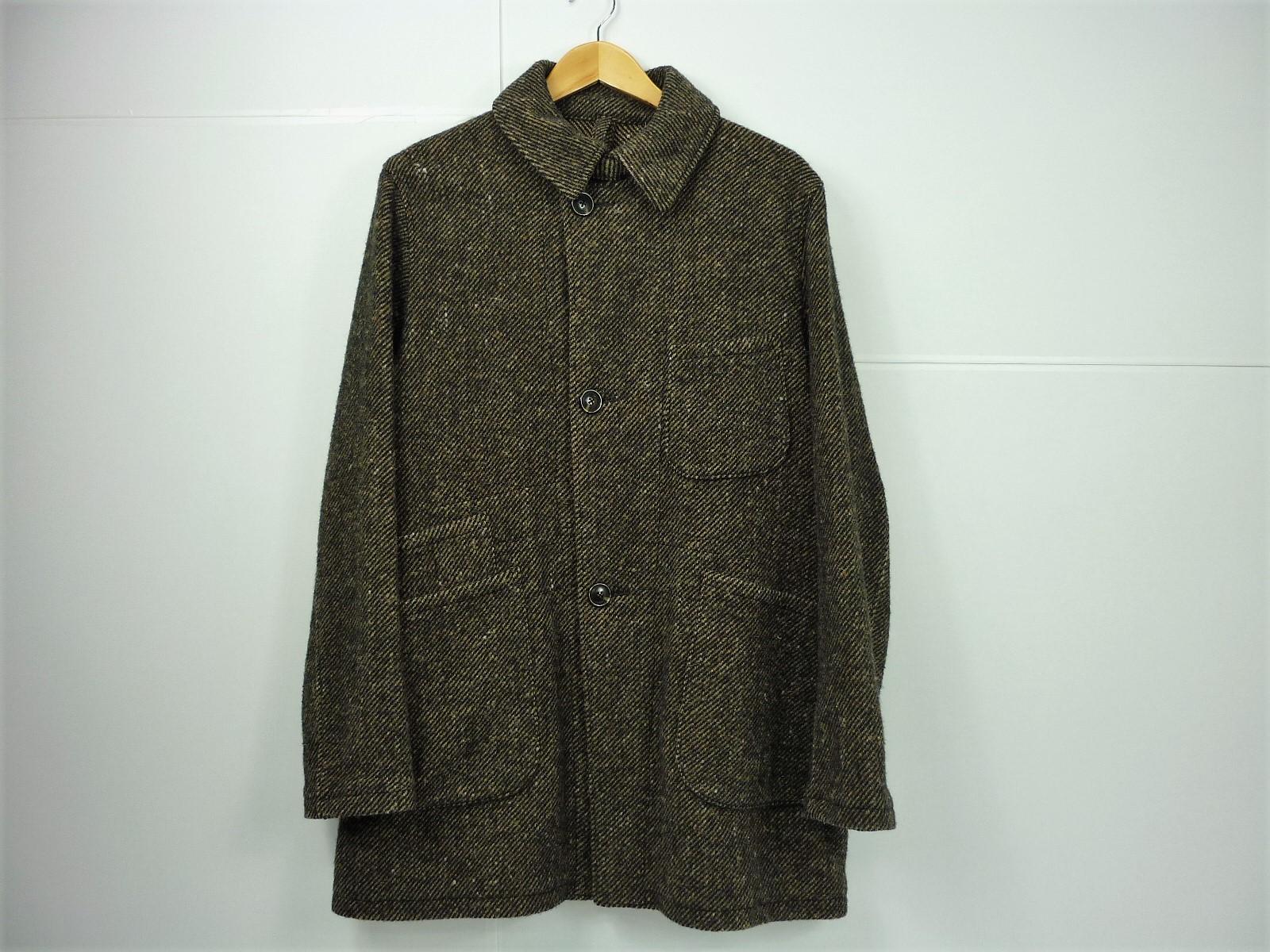 NEEDLES ウールツイードコート size:M ニードルズ ブラウン