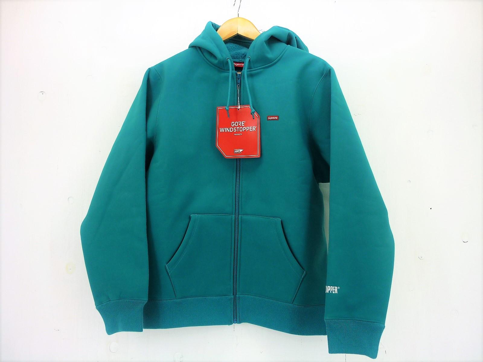 値下げしました Supreme 19AW WINDSTOPPER Zip up Sweatshirt size:S シュプリーム