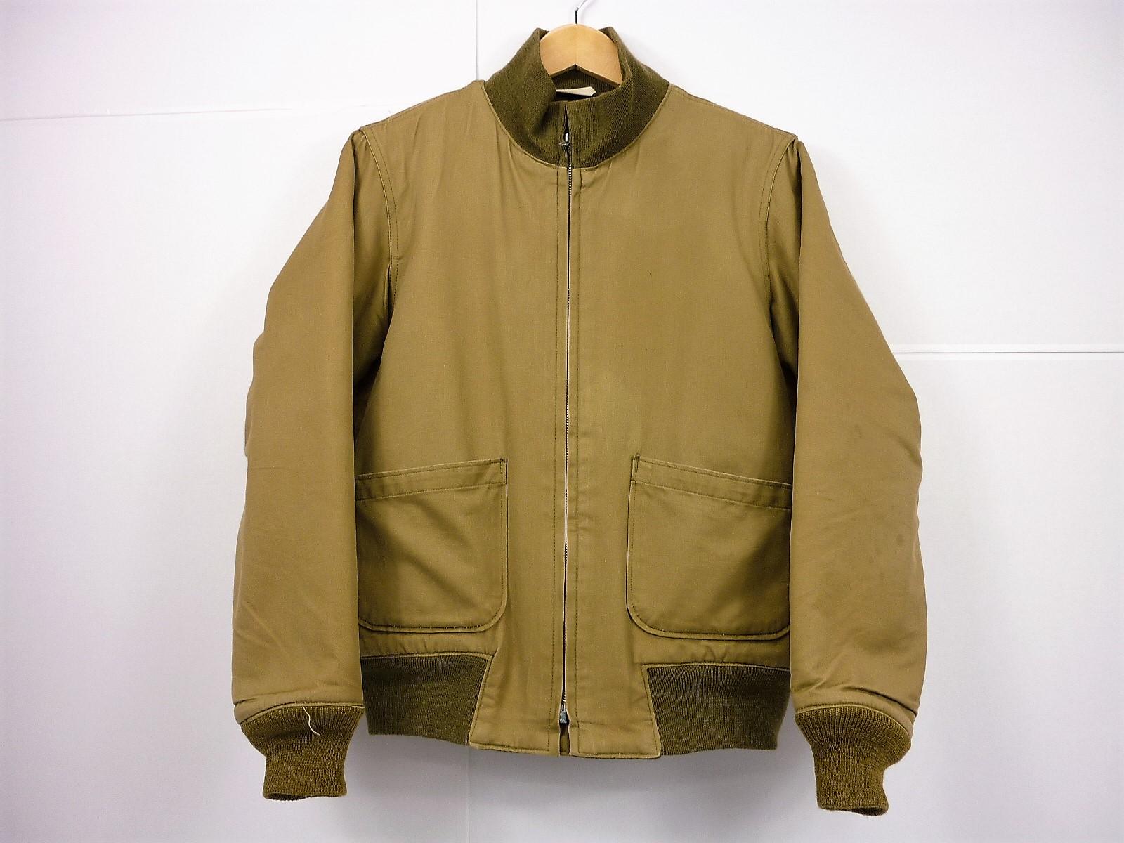 REAL McCOY's タンカース ジャケット size:S リアルマッコイズ カーキ WINTER COMBAT