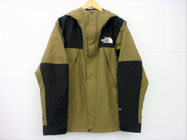 更に値下げ THE NORTH FACE Mountain Jacket NP61800 size:XL ノースフェイス マウンテンジャケット GORE-TEX ゴアテックス カーキ