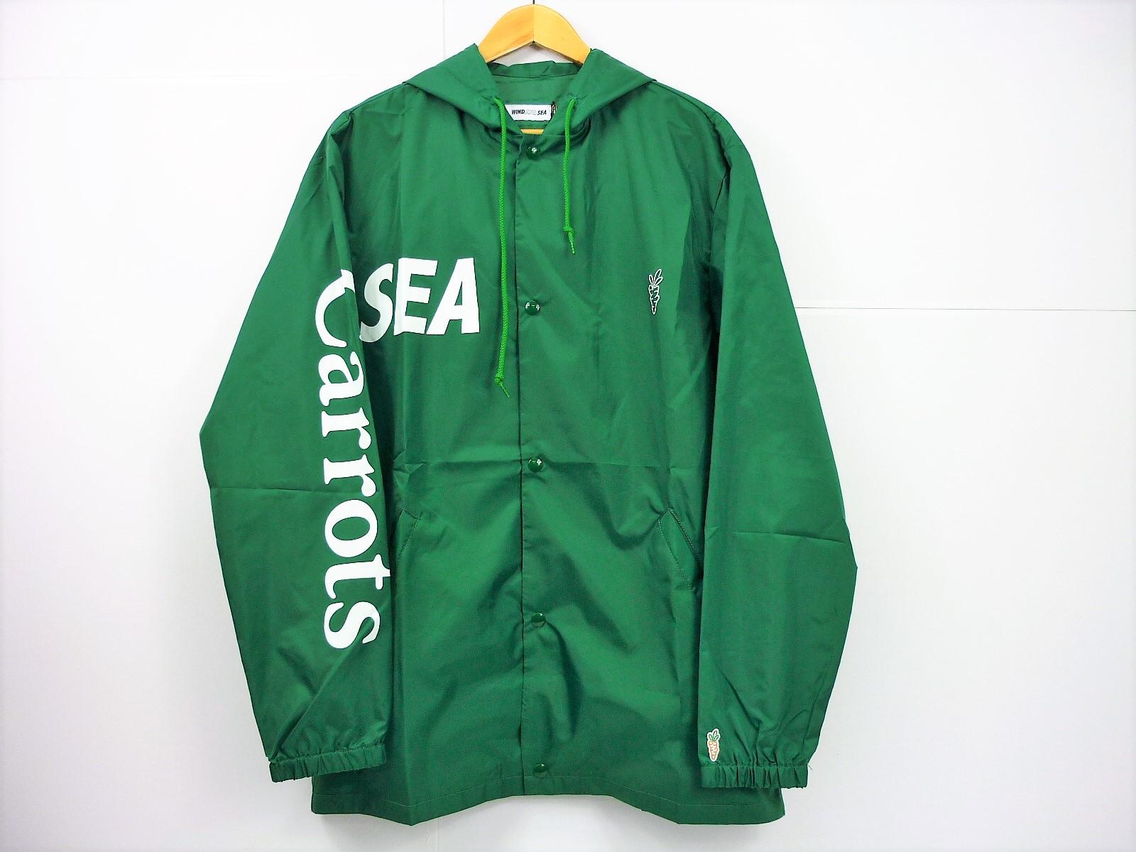 値下げしました WIND AND SEA Carrots Nylon ジャケット size:L ウィンドアンドシー キャロッツ ナイロンコーチジャケット