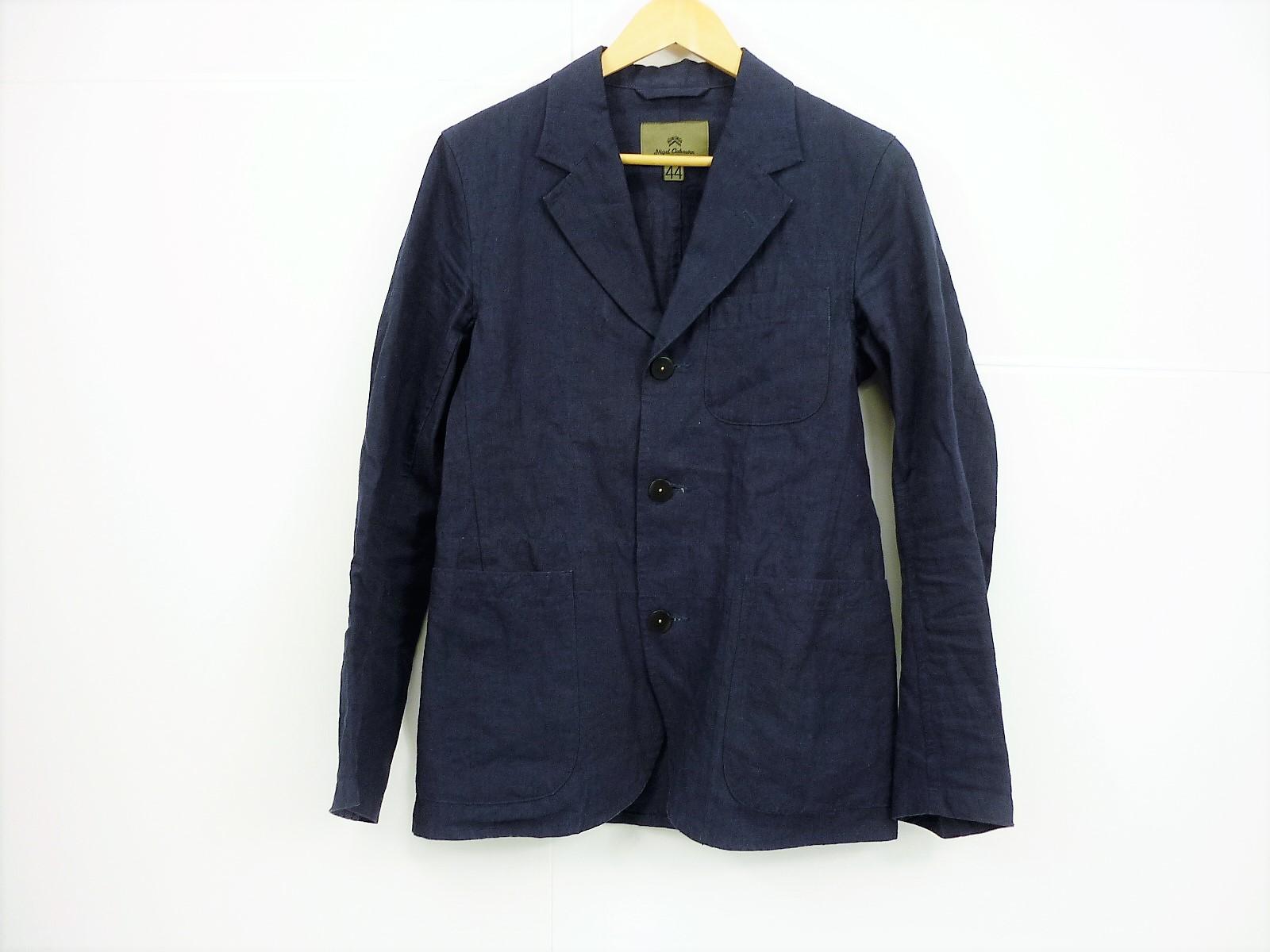 nigel cabourn リネンセットアップスーツ JACKET size:44 PANTS size: 32 ナイジェルケーボン ネイビー