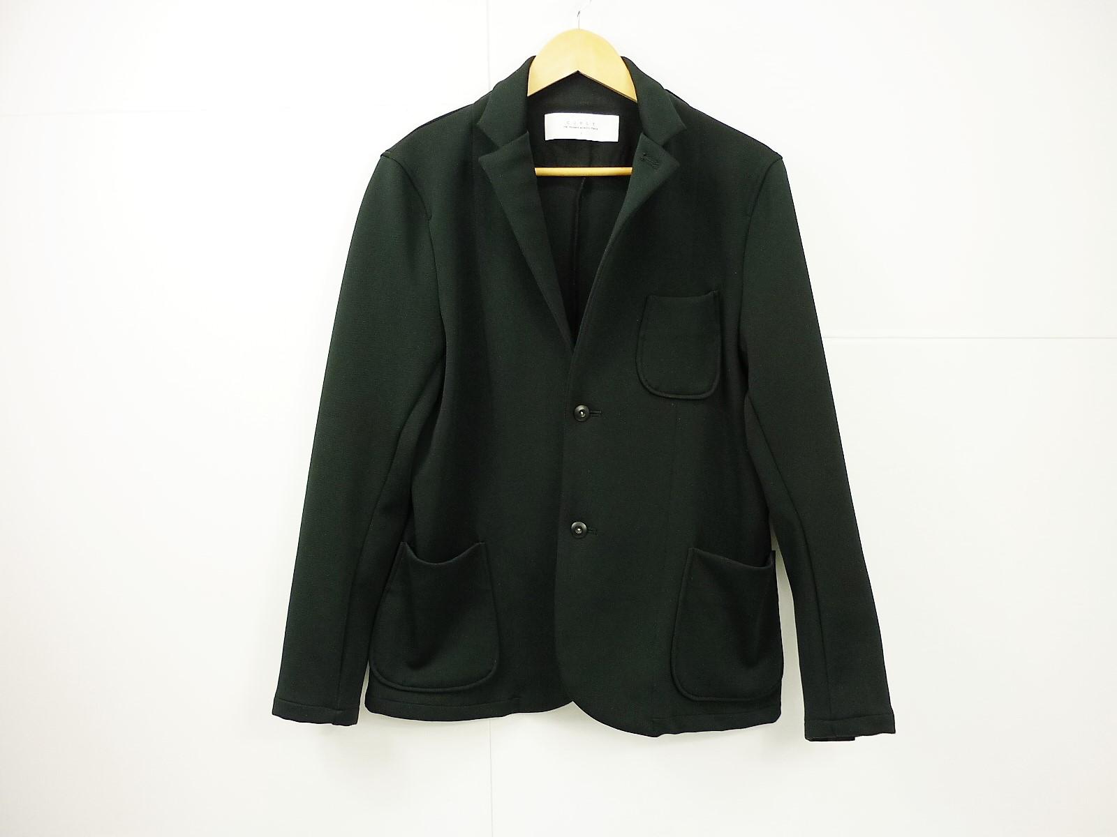CURLY TRACK セットアップスーツ size:3 カーリー テーラード ブラック