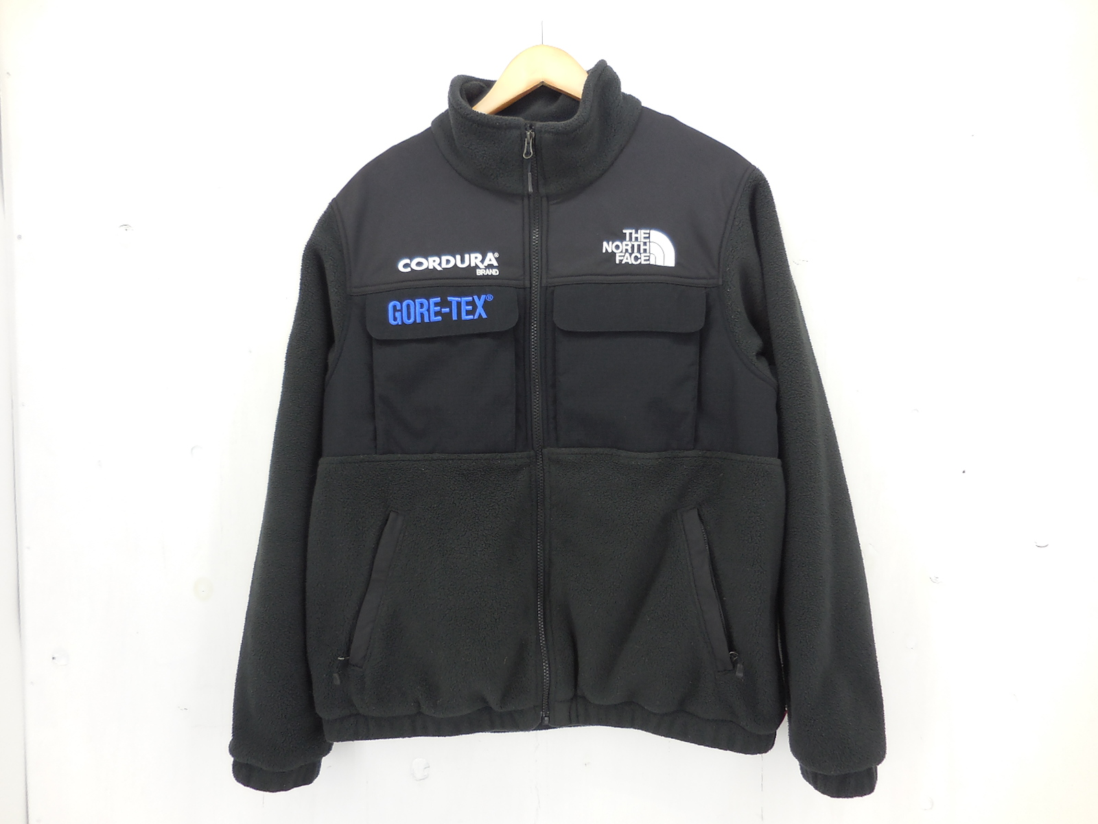 Supreme × THE MORTH FACE 18AW Expedition Fleece Jacket size:M シュプリーム ザ・ノース・フェイス GORE-TEX ブラック ノースフェイス NL718091