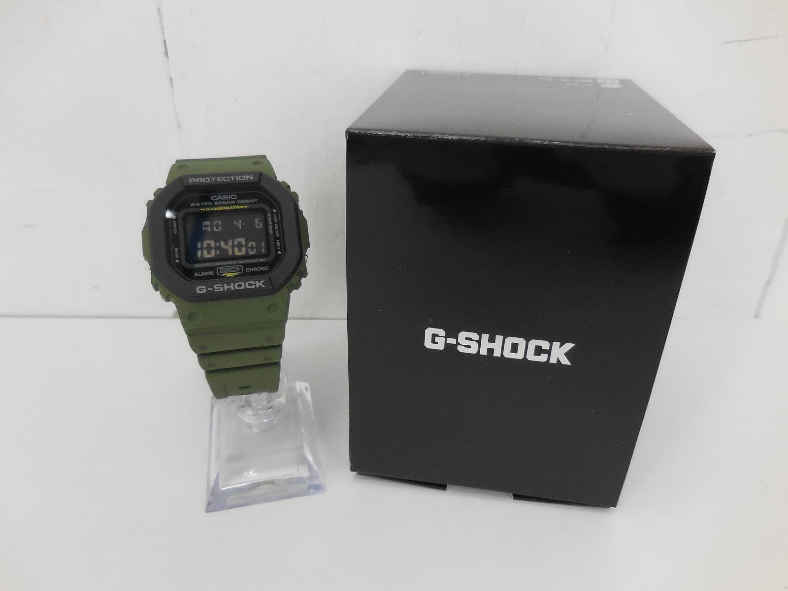 G-SHOCK DW-5610SU ジーショック オリーブ
