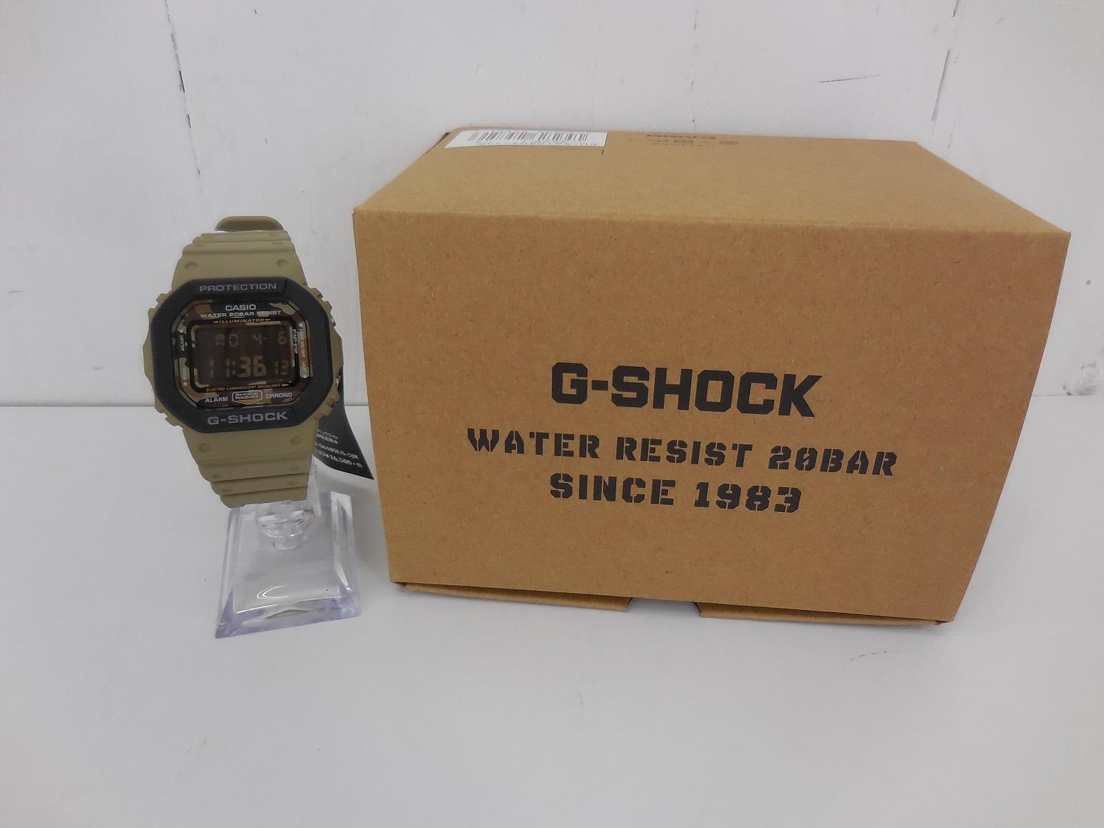 G-SHOCK DW-5610SUS-5JR ジーショック カーキ カモフラ