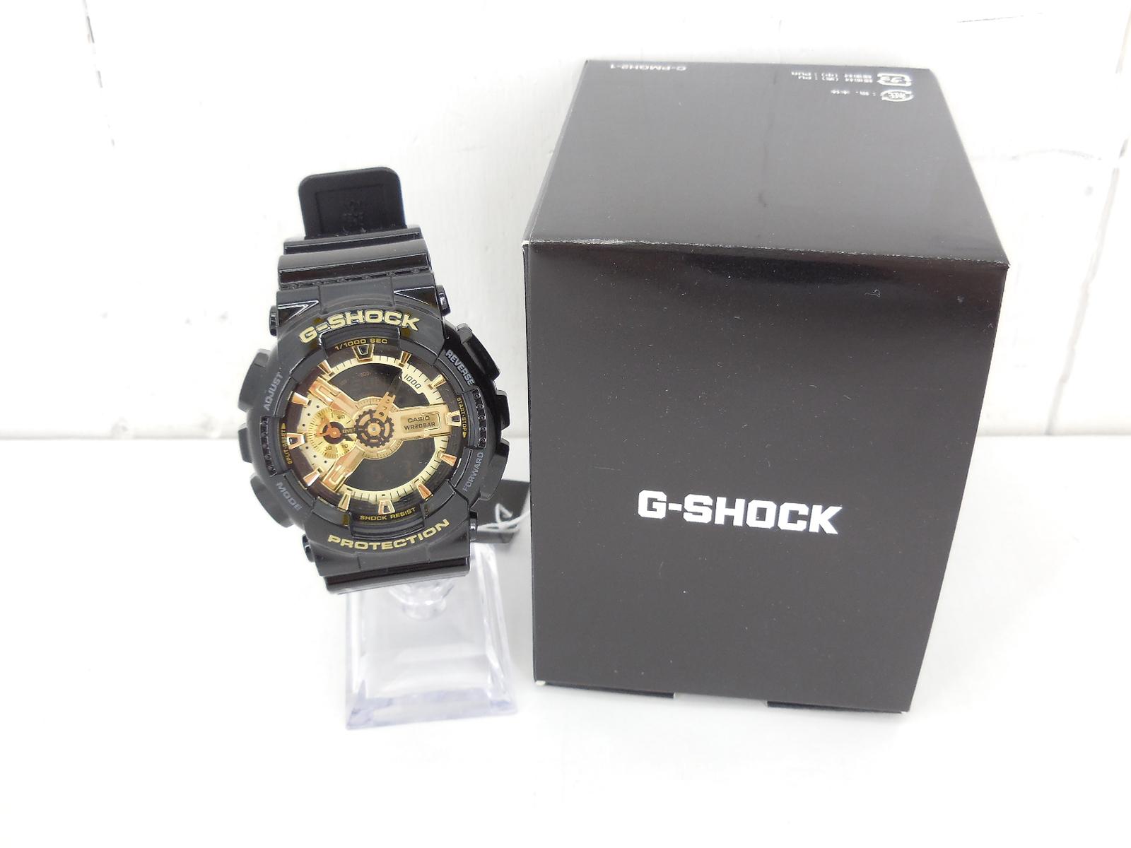 G-SHOCK GA-110GB-1AJF ジーショック ブラック×ゴールド 時計 ウォッチ