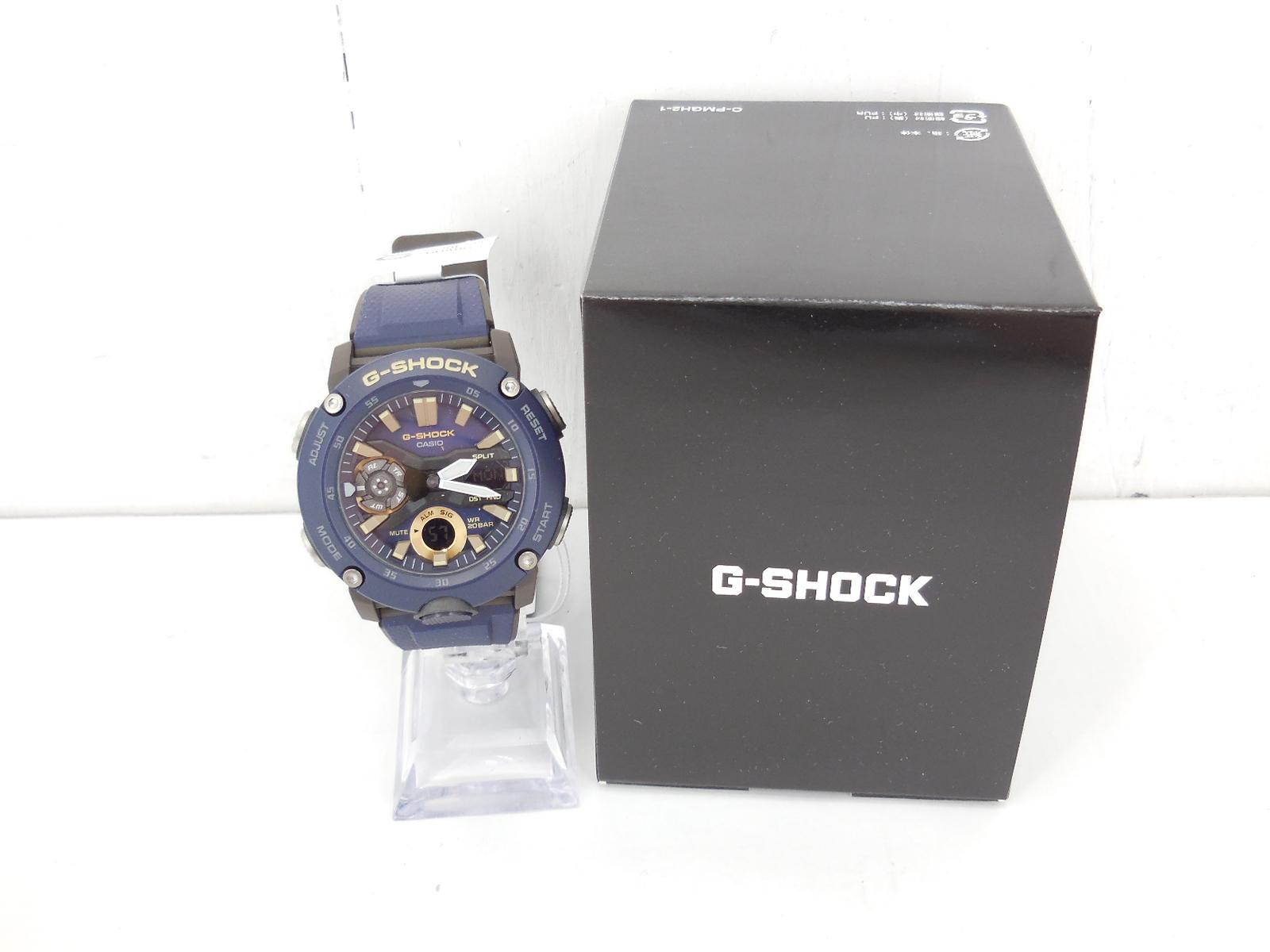 G-SHOCK GA-2000-2AJF ジーショック ワールドタイム ネイビー 時計 ウォッチ