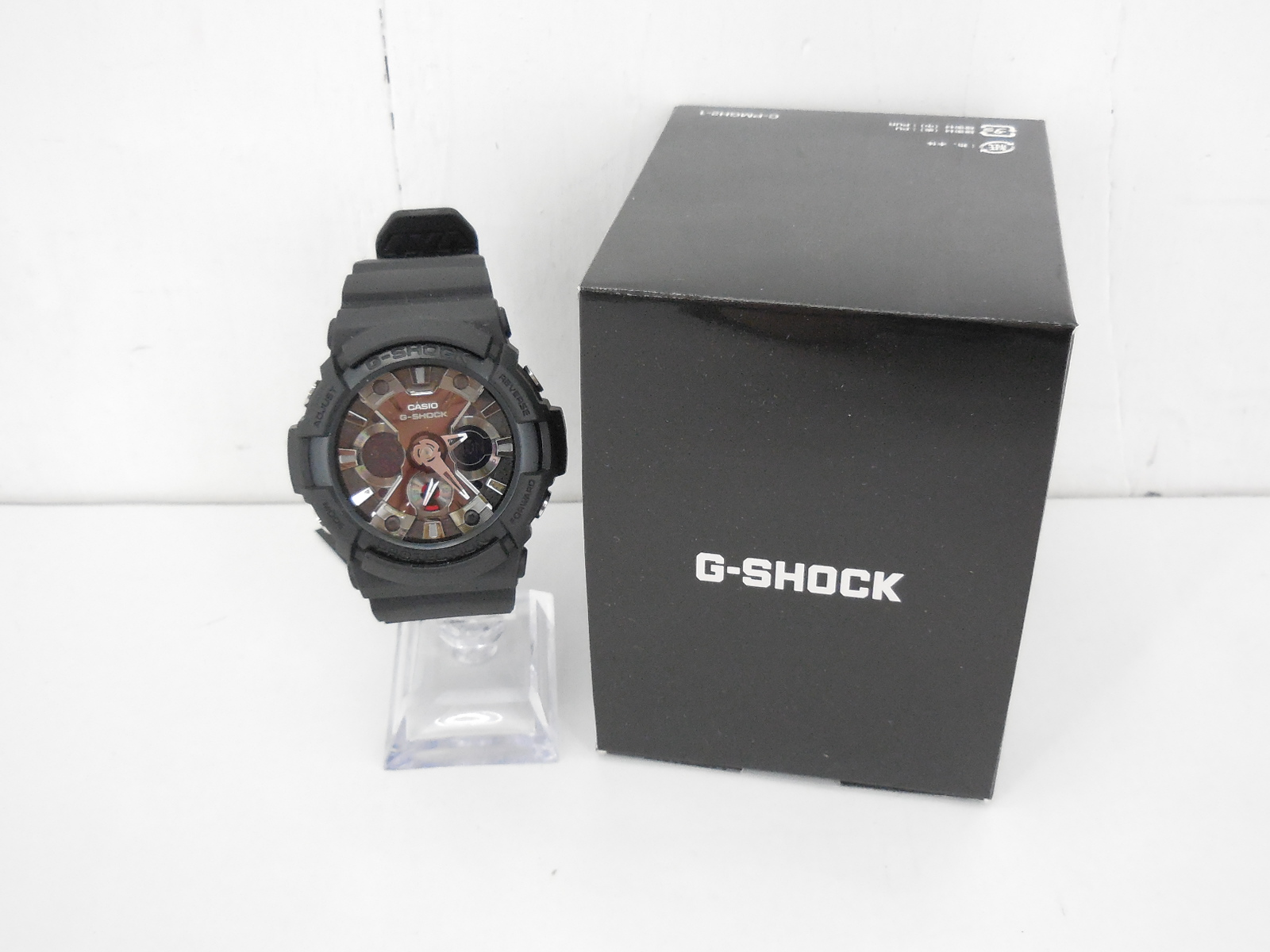G-SHOCK GA-201-1AJF ジーショック デジタル・アナログ ブラック 時計 ウォッチ