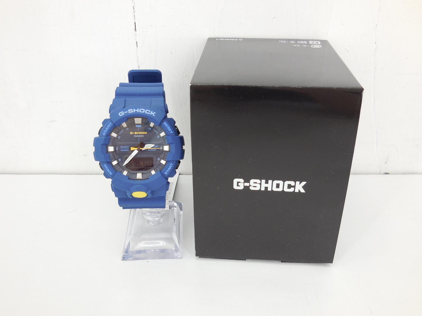 G-SHOCK GA-800SC-2AJF ジーショック デジタル・アナログ ネイビー 時計 ウォッチ
