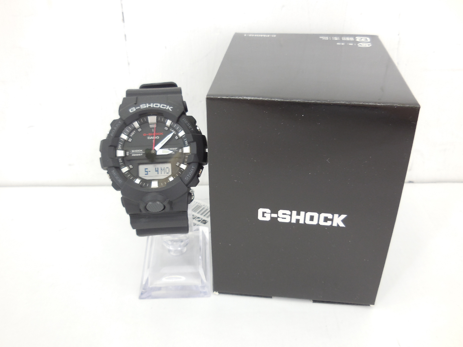 G-SHOCK GA-800-1AJF ジーショック デジタル・アナログ ブラック 時計 ウォッチ