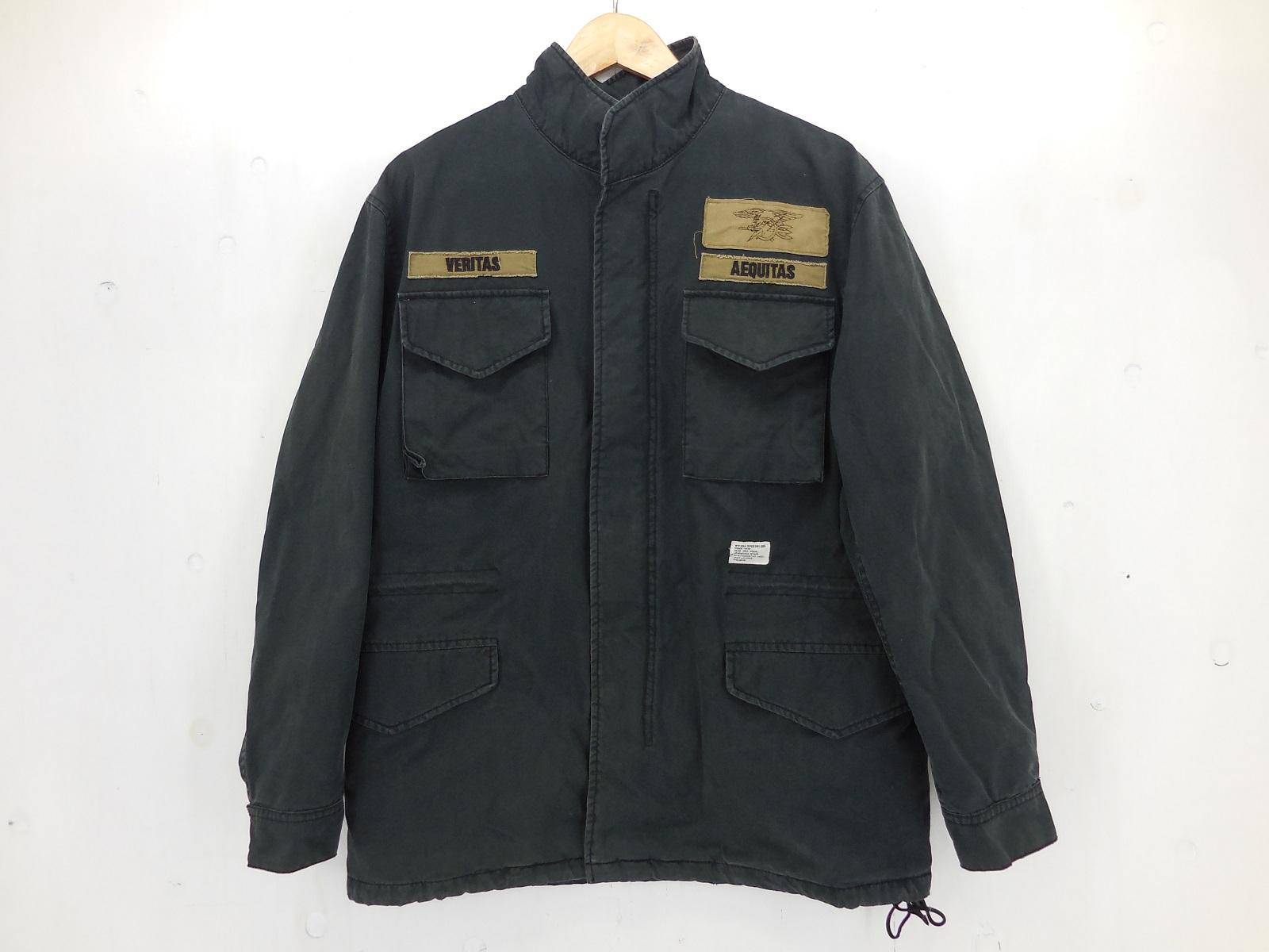 WTAPS M-65 ミリタリージャケット size:M ダブルタップス ブラック TSDT-JKM02