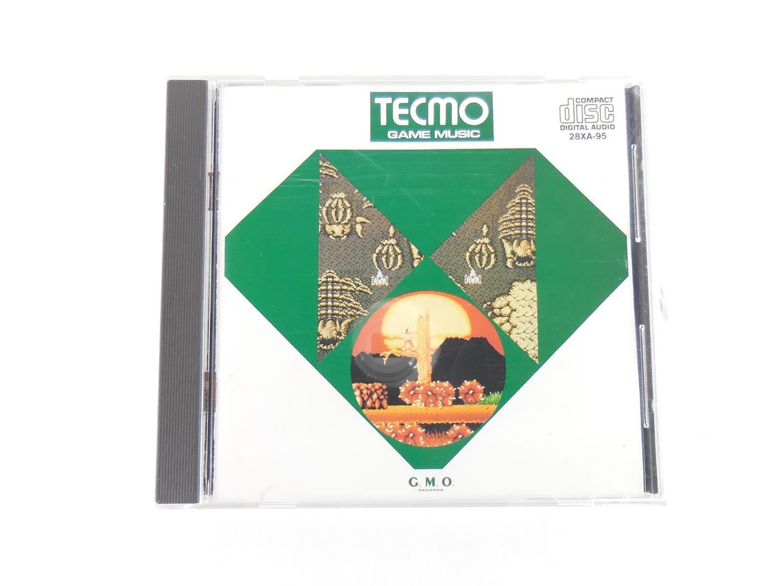 テクモ・ゲーム・ミュージック アルファーレコード 28XA-95 【CD】