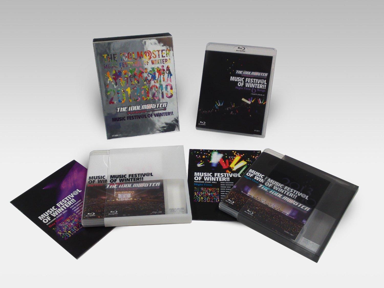 THE IDOLM@STER MUSIC FESTIV@L OF WINTER!!(Blu-rayBOX)(完全初回生産限定)【ブルーレイ】【中古】