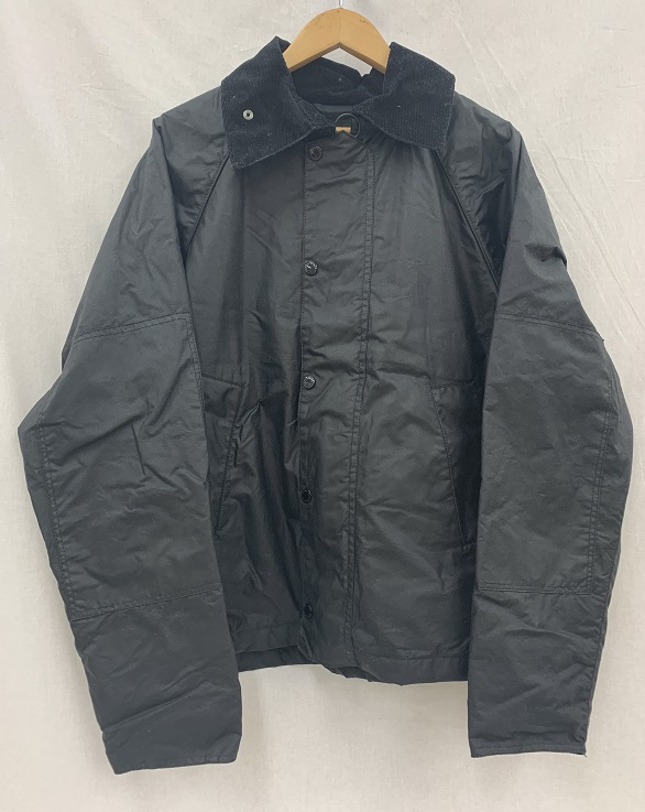 Engineered Garments ×Barbour 18AW GRAHAM WAXJACKET Size:M BLACK