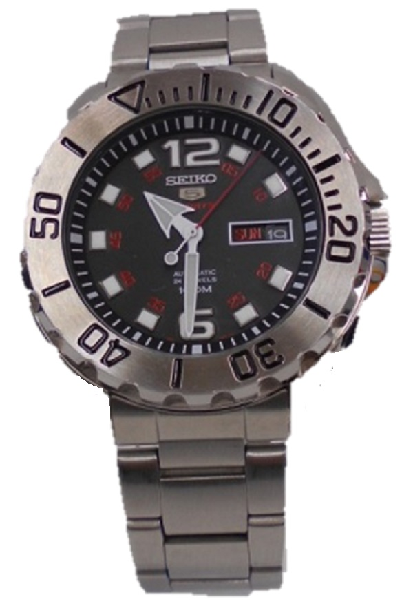 SEIKO/セイコー5 ファイブ SRPB33K1自動巻き 腕時計 メンズ 裏スケデイデイト 4R36-06B0