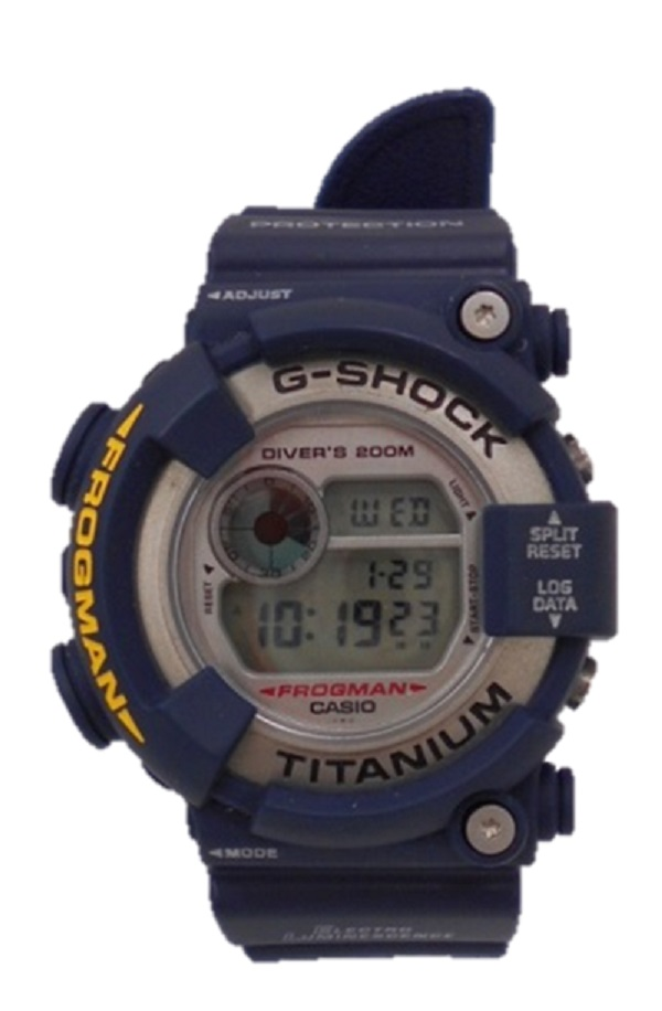G-SHOCK/ジーショックFROGMAN/フロッグマンMEN IN NAVY メンインネイビーDW-8200NK デジタル メンズ