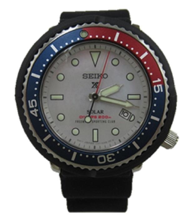 SEIKO/セイコーPROSPEX/プロスペックス F.S.C.コラボV147-0CK0 STBR031-BSM95 DIVER SCUBAソーラー 腕時計 未使用