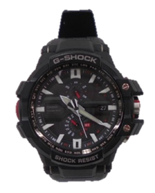 G-SHOCK/ジーショックGW-A1000SKY COCKPIT スカイコックピットGRAVITY MASTER グラビティマスターブラック レッド ソーラー