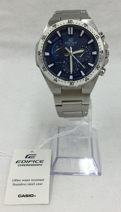 CASIO/カシオ EDIFICE エディフィス EFR-563D メンズ  クォーツ 腕時計 中古 美品 クロノグラフ ブルー
