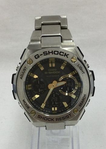 G-SHOCK/ジーショック GST-W110D G-STEEL Gスチール デジアナ ソーラー電波 メンズ 腕時計