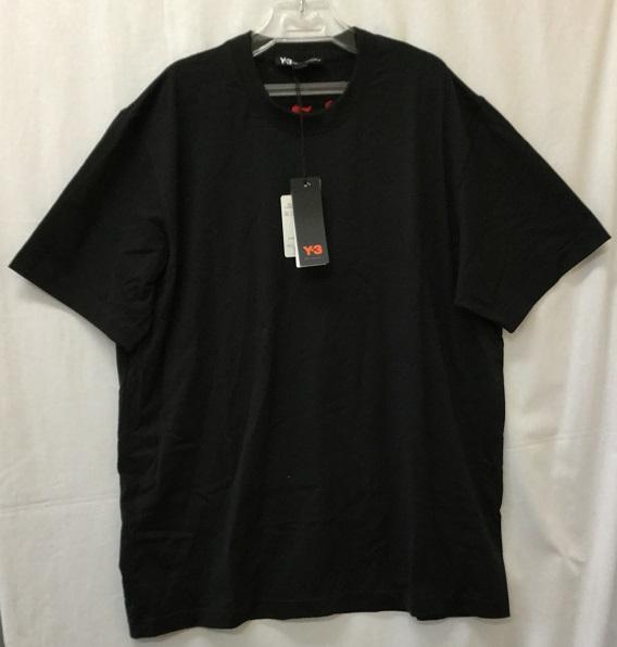 Y-3 adidas YOHJI YAMAMOTO CRAFT GRAPHIC SSTEE FS3371 SIZE:XXL BLACK 未使用