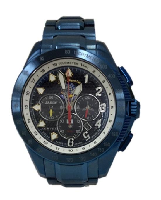 KENTEX/ケンテックスBLUE IMPULSE ブルーインパルスT-4 20th記念モデル メンズ ソーラー腕時計 S720M-02 美品