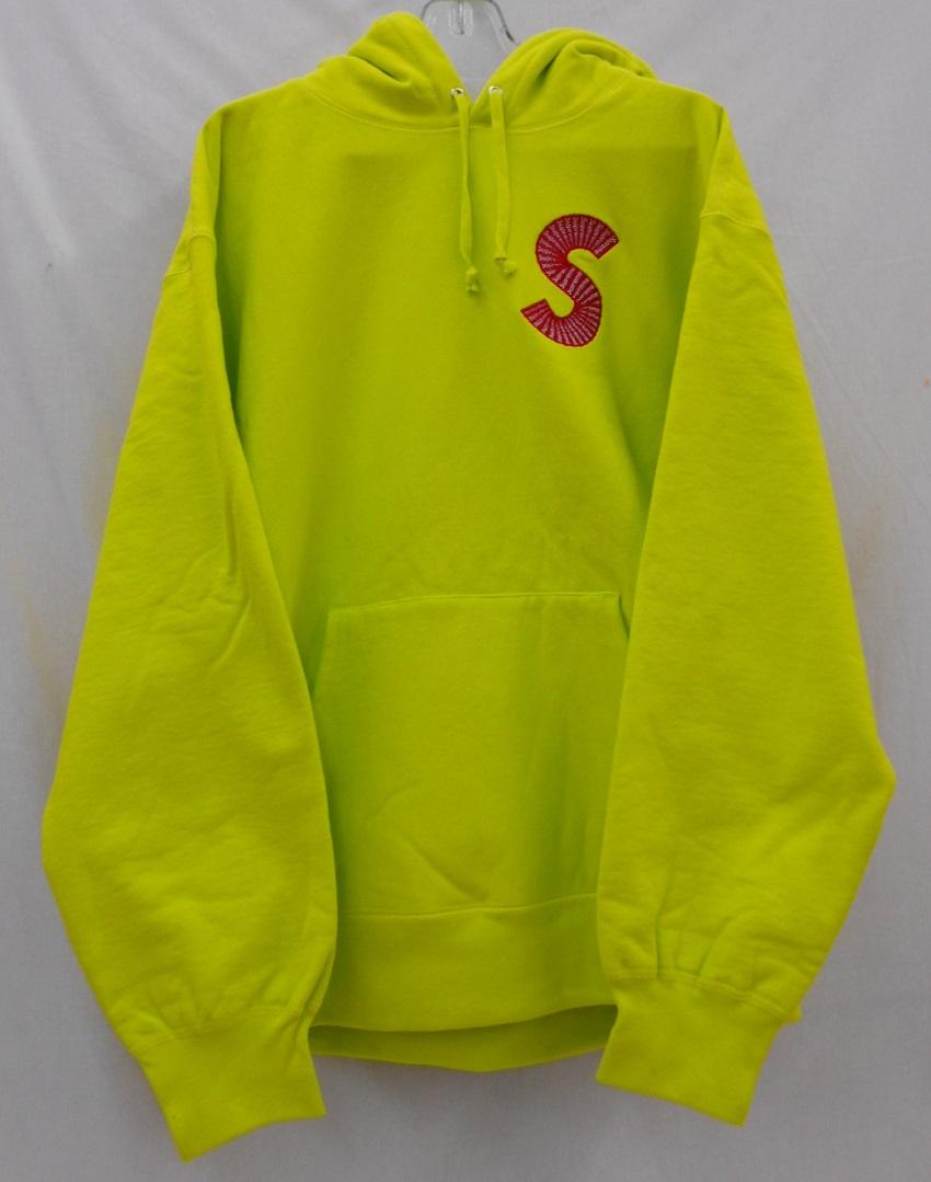 【50%OFF】 Supreme/シュプリーム 20AWS Logo Hooded Sweatshirtロゴ パーカー Size:L Acid Green 未使用, ドレスショップJewel 19fed42f