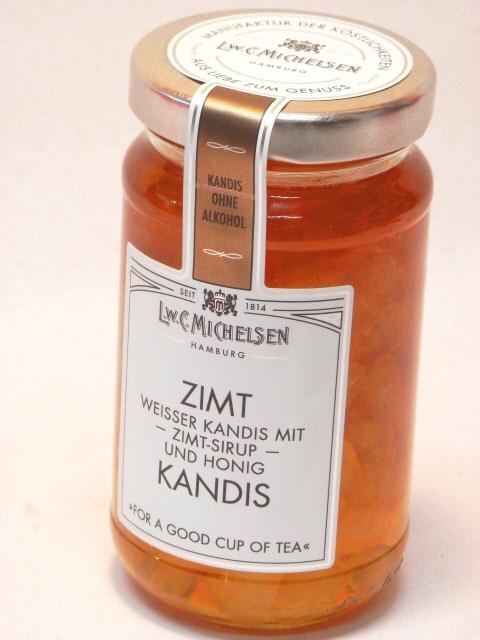 キャンディス ドイツの紅茶シロップ シナモンの香りが素敵 ツィムト シナモン ハチミツ ドイツ ミヒャエルセン メープルシロップ漬け白色氷砂糖 マーケット ※キャンディスのギフトラッピングはできません テレビで話題