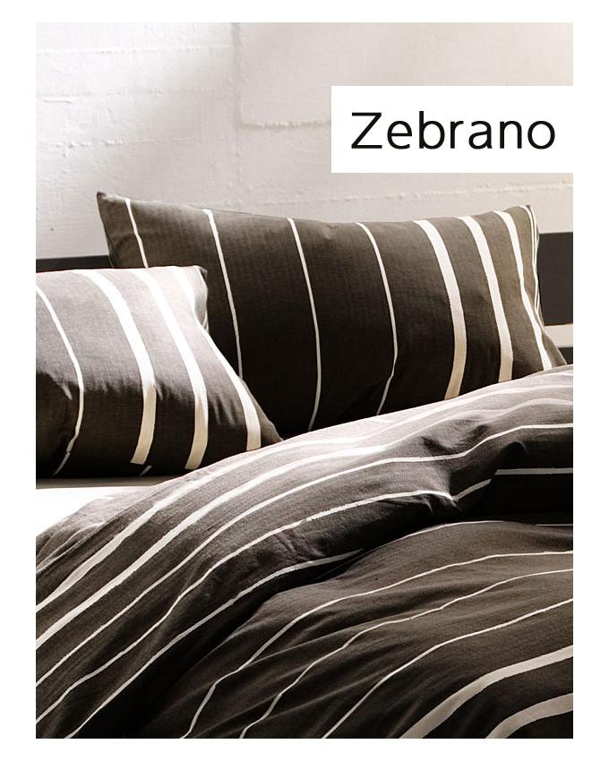 ファブザホーム Fab the home ピローケース枕カバー Mサイズ Zebrano ゼブラノ