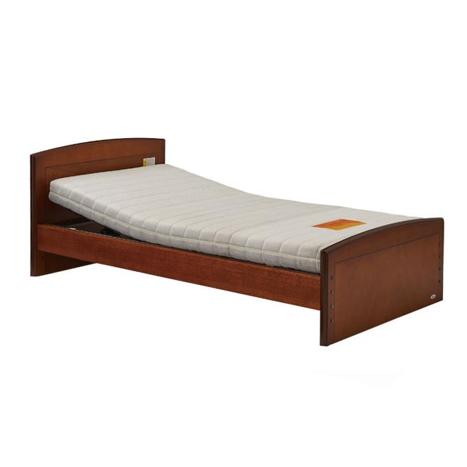 プラッツ ケアレットフォルテ2 carelet マットレスセット(フラット仕様)1モーター1+1モーターベッド【BED ベッド ベット 介護ベット 介護用ベッド リクライニングベッド 電動ベット】