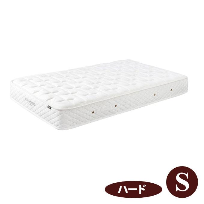 【日本ベッド】シルキーポケットハード(ウール入り)11192(11095)シングルサイズマットレス (S)