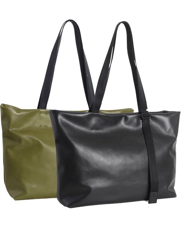 PATRICK STEPHAN パトリックステファン|カウハイド ワイドトートバッグ 172ABG01| Leather tote wide 'adjustable shoulder' (r-r194)