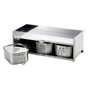 工房アイザワ UTILE serve-pot 調味料ラック 3pc 大 6212
