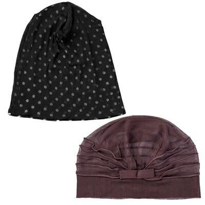保証 ファッション通販 お悩みカバー シルクの快適帽子 シルクの帽子 コモライフ