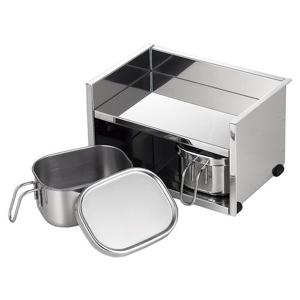 工房アイザワ UTILE serve-pot 調味料ラック 2pc 6214
